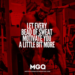 Sweat Fitness Quotes Motivational