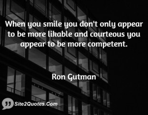 When you smile you don 39 t only appear to be more likable and ...