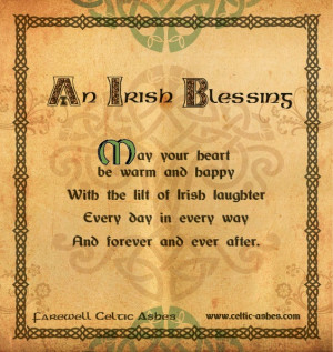 Irish Blessings For Funerals