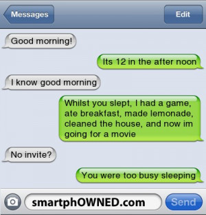 cute text messages to send to your boyfriend to wake up to