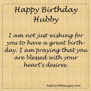 Flirty and Romantic Husband Birthday Messages