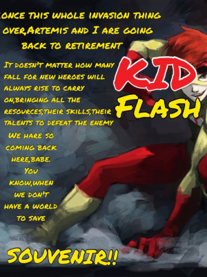 Kid Flash Quotes by Jack-frost-fangirl55 on DeviantArt