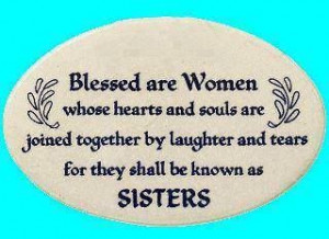 Blessed are women whose hearts . . . .