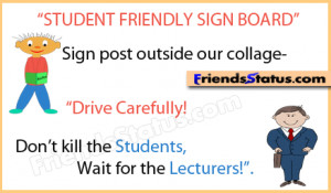 student lectures funny jokes quotes