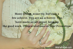 Congratulations Your Promotion Quotes #15