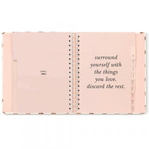 typical Kate Spade fashion these agendas have fun, motivational quotes ...