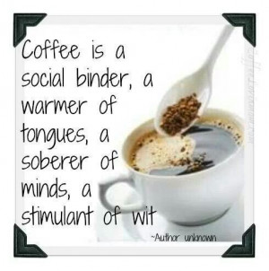 coffee makes life almost perfect