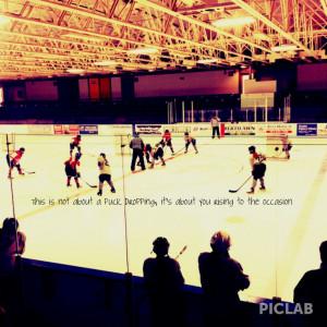 Hockey quote #hockey #quotes