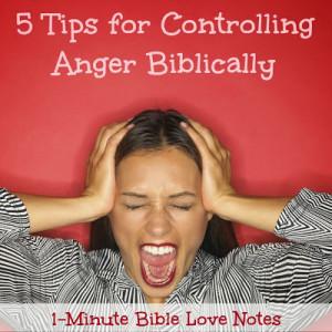 Anger, temper, Bible, control Temper