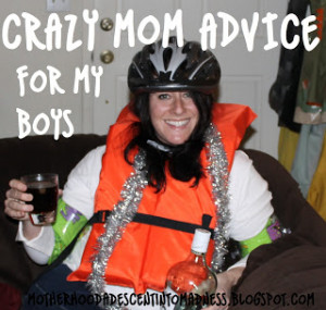 mean, wouldn't you want to take advice from this crazy bitch?