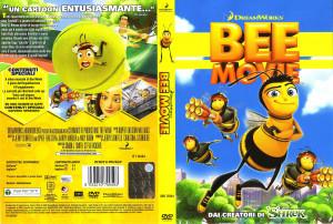 Copertina dvd Bee movie, cover dvd Bee movie - CopertineDVD.
