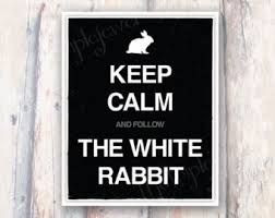 Follow the white rabbit quote - Matrix