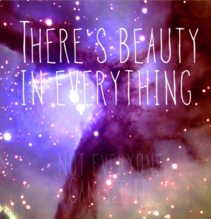 Galaxy With Quotes Quote...