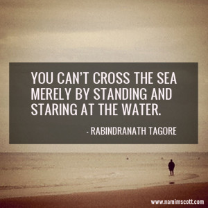 Quote of the Week: Crossing the Sea