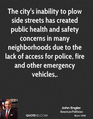 The city's inability to plow side streets has created public health ...