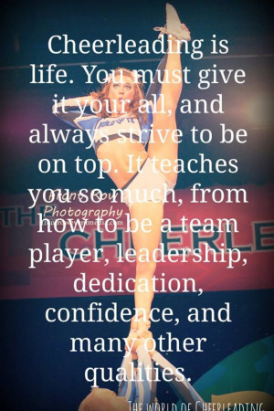Cheer Quotes About Life And