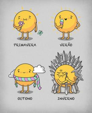 Brrrrrr! :] haha! Spring, summer, autumn, winter!