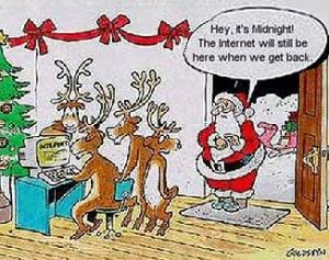 The Names of Santa's Reindeers