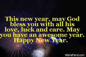 New Year Christian Quotes And Sayings ~ New Year Sayings