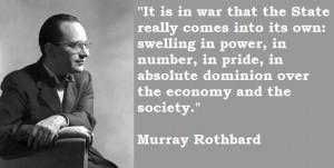 TGIF: War, Peace, And Murray Rothbard