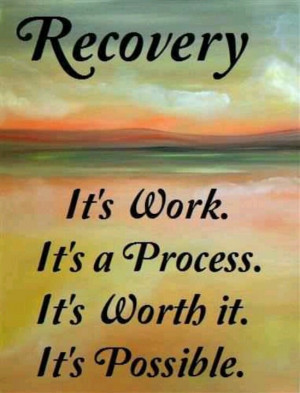 Any investment in yourself is not a waste! Recovery is possible and ...
