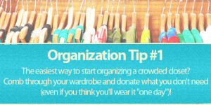 Get Organized Month: Closet Clean-Up