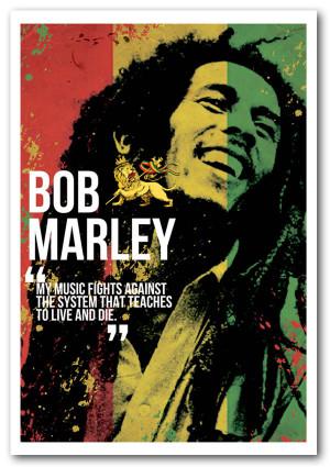 Framed Bob Marley Quotes Quotesgram