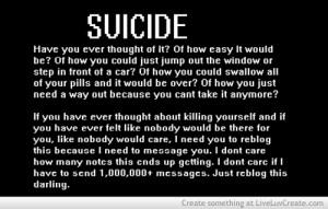 Sad Suicide