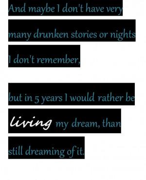 Dream. Then make it happen.