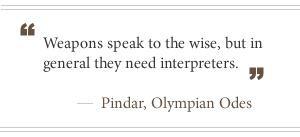 Pindar Quote