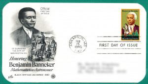 Benjamin Banneker Stamp