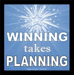 Winning Takes Planning Gaye Crispin Poster #gayecrispin #poster # ...