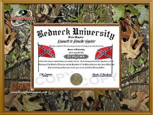 redneck diploma