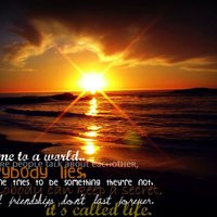 life quotes lie sunset cute photo: favorite quote CampsBaySunset.jpg