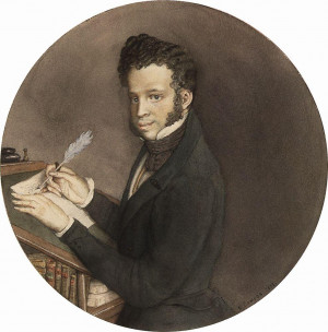 Alexander Pushkin at Work