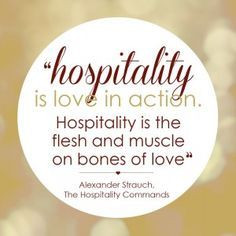hospitality #quote #love #entertaining