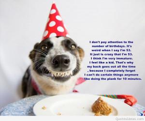Happy Birthday Funny Dog Quotes