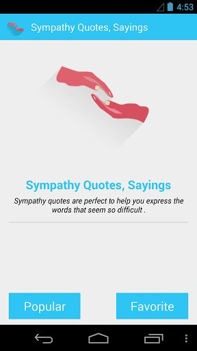 Sympathy Quotes And Sayings
