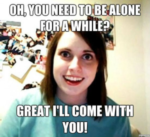 make your own Overly Attached Girlfriend memes over at zipmeme