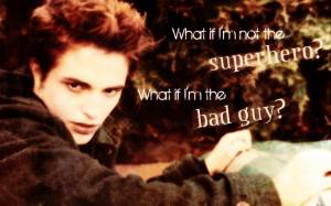 Edward Cullen Team Twilight Saga Eclipse Quote Funny