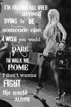 The Pretty Reckless ♥ Taylor Momsen ♥ Lyrics from their song ...