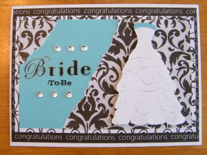 Handmade Bridal Shower Cards. Bridal Shower Sayings For Cards. View ...