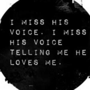 Miss him