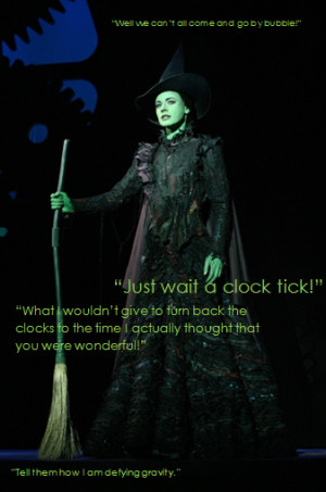 Elphaba Quotes by gvinney