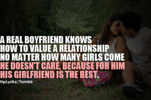 real boyfriend knows how to value a relationship no matter how many ...
