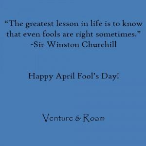 Funny April Fool Quotes ]