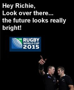 Rugby Union : the game they play in heaven