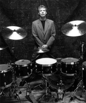 Charlie Watts Drum Kit Setup