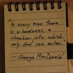 George MacDonald.