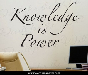 Motivational quotes knowledge